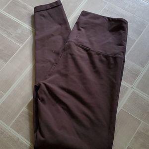 Adorable dark brown French Laundry leggings